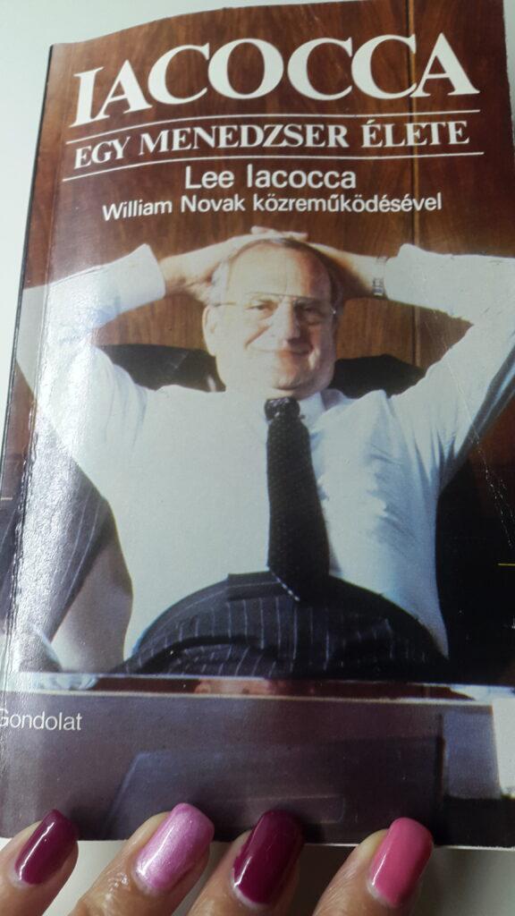 Lee Iacocca - Egy menedzser élete - könyv